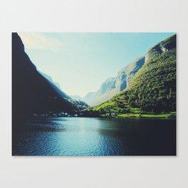 Mountains XII Canvas Print