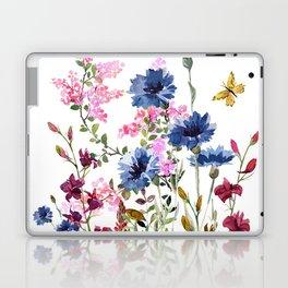 Wildflowers IV Laptop & iPad Skin