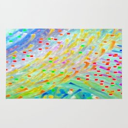 Sparkle Abstract Rug