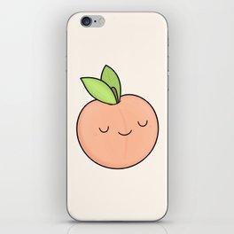 Happy Peach iPhone Skin