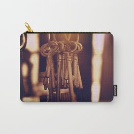 Hanging Keys+Bokeh Carry-All Pouch