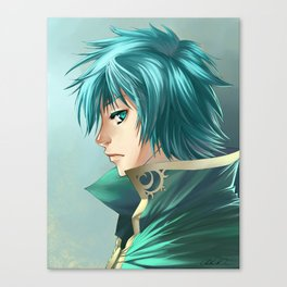 Tourquise Knight Canvas Print