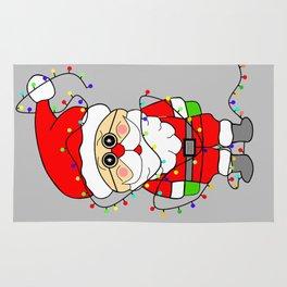 Silly Santa Rug