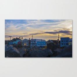 Sea Bright Skyline Canvas Print