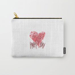 Happy Hearts Day Carry-All Pouch