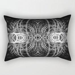 Alienate - Black and White Rectangular Pillow