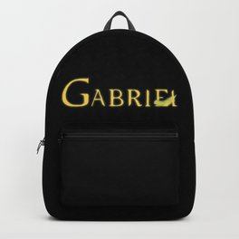 Gabriel with Feather Backpack