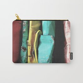 A scrapped car Carry-All Pouch