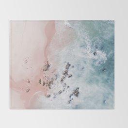 sea bliss Throw Blanket