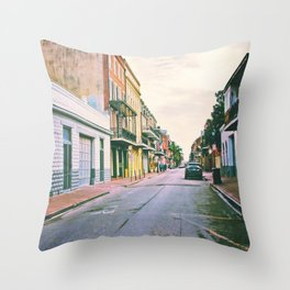 To Miss New Orleans Throw Pillow