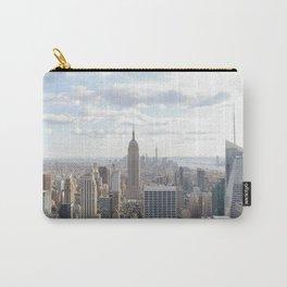 Manhattan skyline view Carry-All Pouch