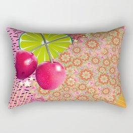 Candied Fruities, Flowered Cooties Rectangular Pillow