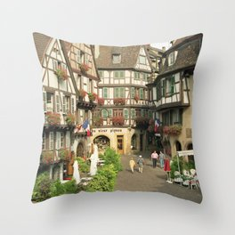 Alsace - Colmar Throw Pillow