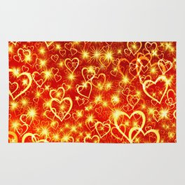 Hearts On Fire Rug