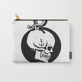 Sailor skull illustration Carry-All Pouch
