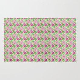 Floral Seamless Pattern Rug