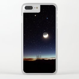 Road trip to Big Bend Clear iPhone Case