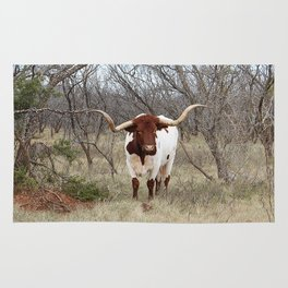 Longhorn Cattle Rug
