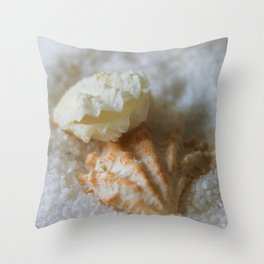 Seashells 1 Throw Pillow