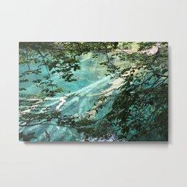 Clear Blue Waters Metal Print
