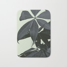 Pachira Aquatica #3 #foliage #decor #art #society6 Bath Mat