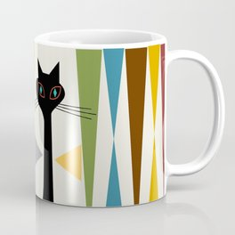 Mid-Century Modern Art Cat 2 Coffee Mug