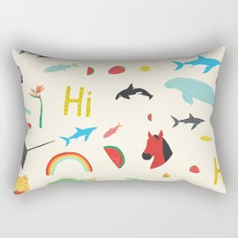 All Together Rectangular Pillow