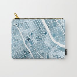 Map Nashville Tennessee Blueprint City Map Carry-All Pouch