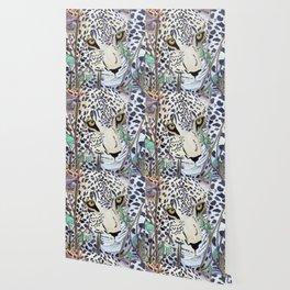 Never Resting - Leopard by Maureen Donovan Wallpaper