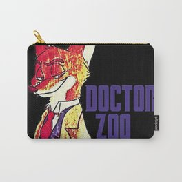 """Doctor Zoo: """"Zootopia""""/""""Doctor Who"""" Crossover Carry-All Pouch"""