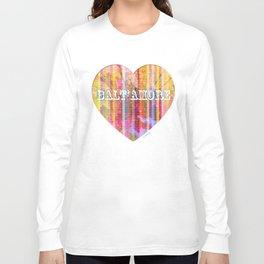 Balt'Amore - Pink Long Sleeve T-shirt
