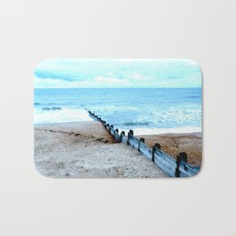 Outlook over the North Sea Bath Mat