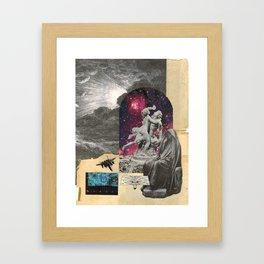 Black Hole Chaperone (Winter) Framed Art Print