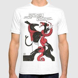 This God Kills Fascists T-shirt