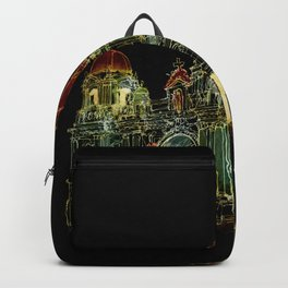 Berlin Cathedral at Night Backpack
