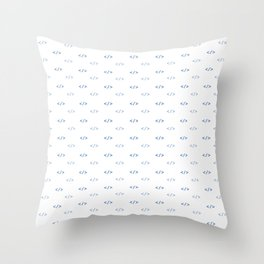BRACKET'S SEEKER Throw Pillow