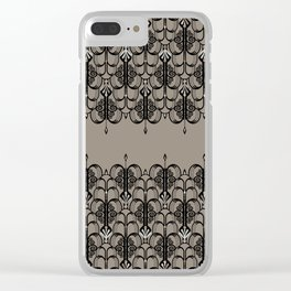 Art Deco 1 Clear iPhone Case