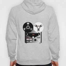 Black and White Recorder Hoody