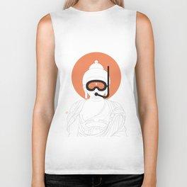 Buddha : Take A Deep Breath! Biker Tank