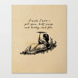 Wuthering Heights - Emily Bronte Canvas Print