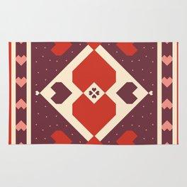 native tribal love Rug