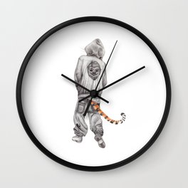 Fierce Attitude Wall Clock