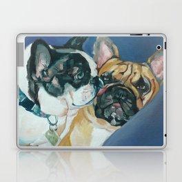 Fanci-Pants and Louie French Bulldogs Laptop & iPad Skin