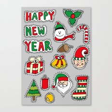 My Christmas Theme (: Canvas Print