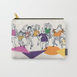8 Tees Party! Carry-All Pouch