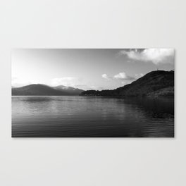 View on the Loch Canvas Print