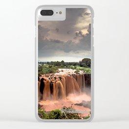Nile Falls- Clear iPhone Case