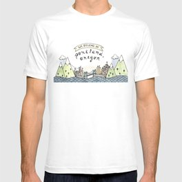 We Belong in Portland T-shirt