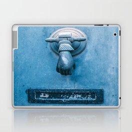 Blue Doorknocker Laptop & iPad Skin