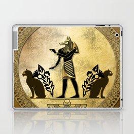 Anubis the egyptian god Laptop & iPad Skin